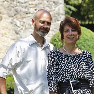 Olivier et Elena Caillard